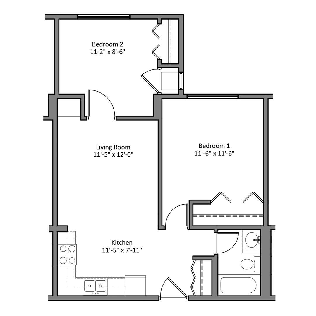 floor plans the denn apartments